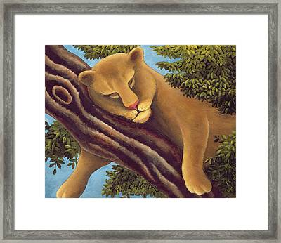 The Dream Framed Print by Jerzy Marek