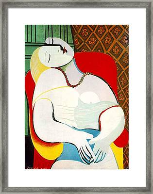 The Dream Framed Print by Lois Picasso