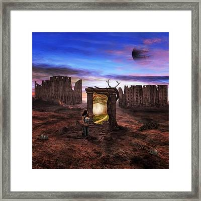 The Dream Of A Better World Framed Print