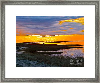The Dream Of Sky Framed Print by Q's House of Art ArtandFinePhotography
