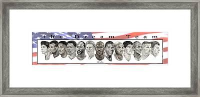 the Dream Team Framed Print