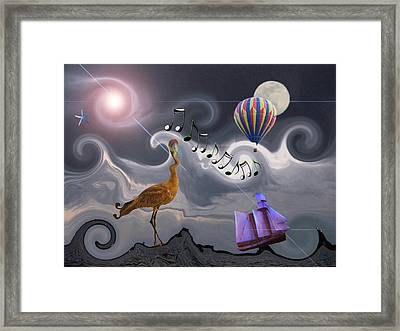 The Dream Voyage - Mad World Series Framed Print