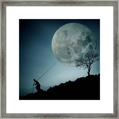 The Dreamer Framed Print by Final Toto