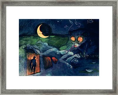 The Dreaming Framed Print