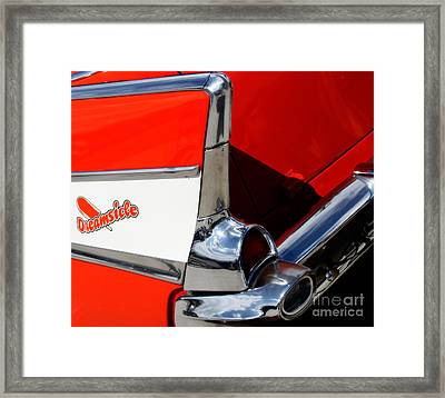 The Dreamsicle 1957 Framed Print by Steven Digman
