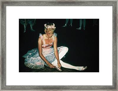 The Dress Rehersal Framed Print by James Welch