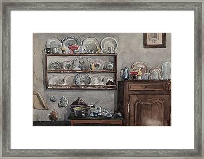 The Dresser  Framed Print