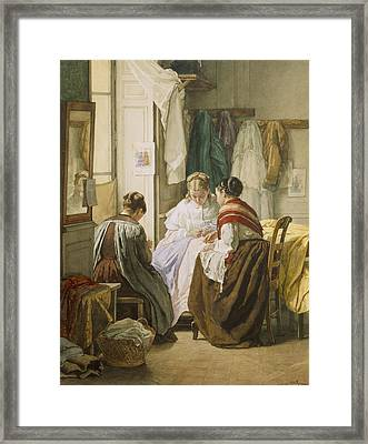 The Dressmakers Framed Print