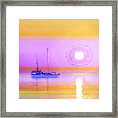 Framed Print featuring the photograph The Drifters Dream by Holly Kempe