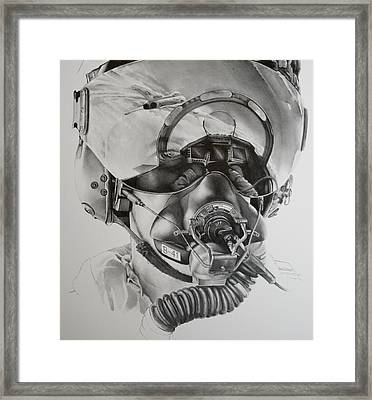 The Driver Framed Print by James Baldwin Aviation Art