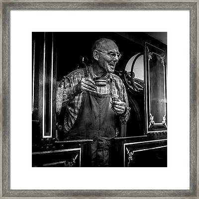 The Driver Framed Print
