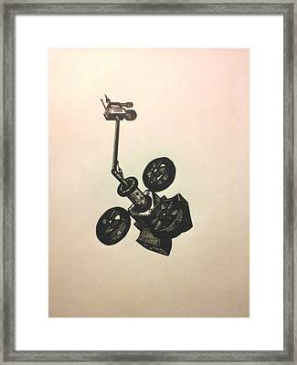The Drone Framed Print by Richie Montgomery