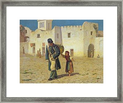 The Drum Beater Framed Print by Michael George Brennan