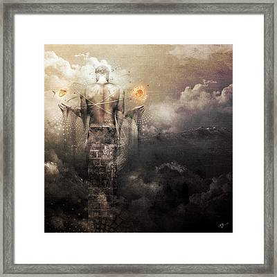 The Drum Framed Print by Cameron Gray