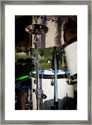 The Drum Set Framed Print by David Patterson