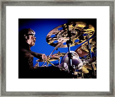 The Drummer Framed Print by David Patterson