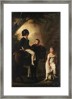 The Drummond Children Framed Print by Sir Henry Raeburn
