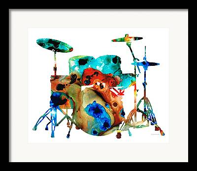 Drum Sets Framed Prints