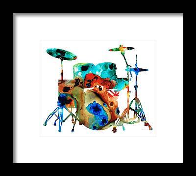 Drummers Framed Prints
