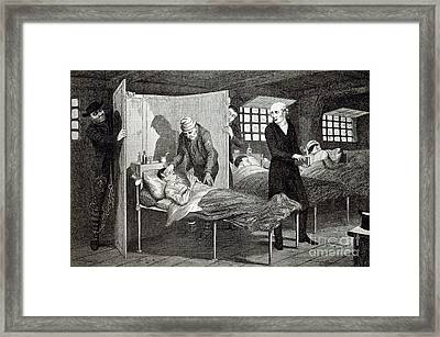 The Drunkard's Children, Artwork Framed Print