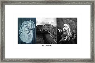The Dubliners Framed Print by Colin O neill