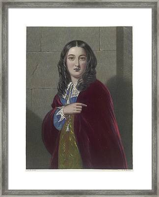 The Duchess Framed Print by British Library