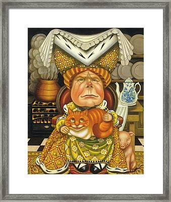 The Duchess Oil & Tempera On Panel Framed Print
