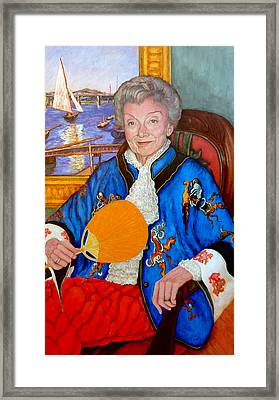 The Duchess Framed Print by Tom Roderick
