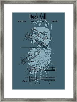 The Duck Commander Duck Call Framed Print by Dan Sproul