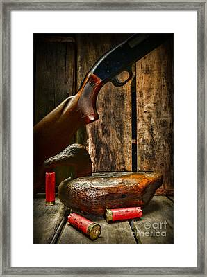 The Duck Hunter Framed Print