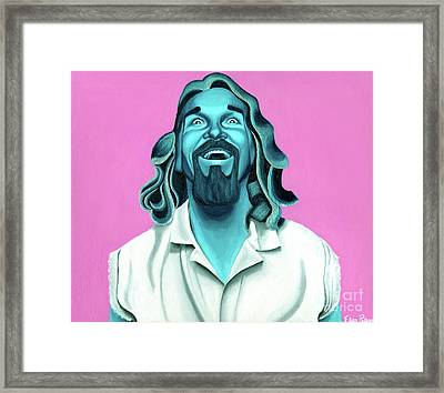 The Dude Framed Print by Ellen Patton