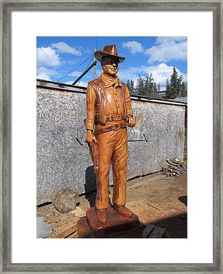 The Duke-2 Framed Print