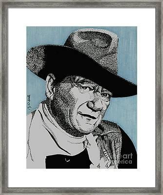 The Duke Framed Print by Cory Still