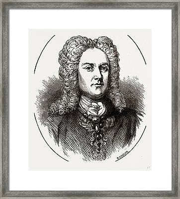 The Duke Of Chandos, Uk Framed Print by Litz Collection