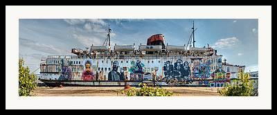 Passenger Ferry Framed Prints