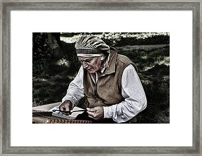 The Dulcimer Man Framed Print