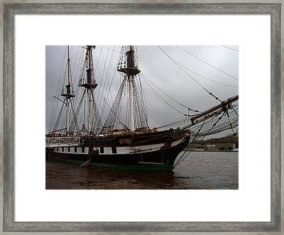 Framed Print featuring the photograph The Dunbrody by Alan Lakin