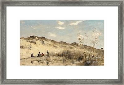 The Dunes Of Dunkirk Framed Print