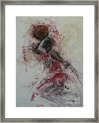 The Dunk  Framed Print