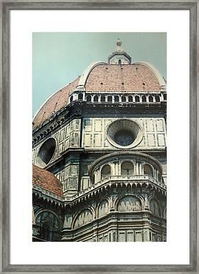 The Duomo Firenze Framed Print by Melinda Saminski
