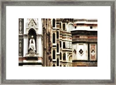 The Duomo Up Close Framed Print