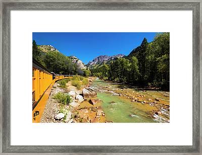 The Durango And Silverton Narrow Gauge Framed Print