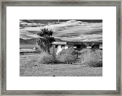 The Dying Sea Framed Print by Michael Pickett