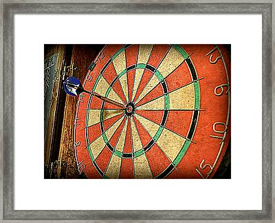 The Eagle Has Landed Framed Print by Michelle Calkins