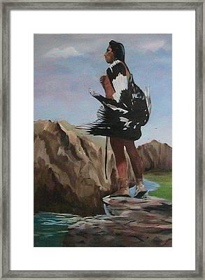 The Eagle Hunter Framed Print