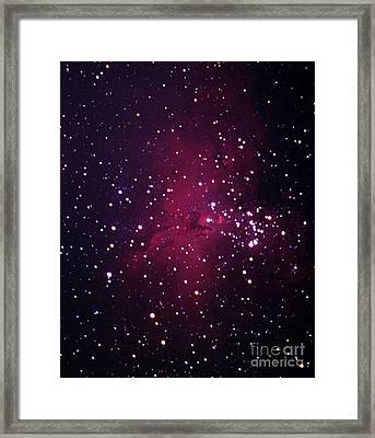 The Eagle Nebula Framed Print by John Chumack