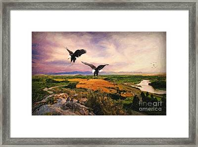The Eagle Will Rise Again Framed Print