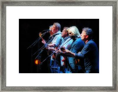The Eagles Inline Framed Print by Alice Gipson