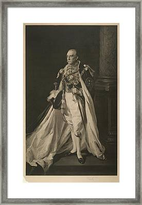 The Earl Of Minto Framed Print by British Library