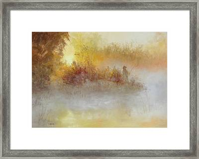 The Early Bird Framed Print by Christine Bass